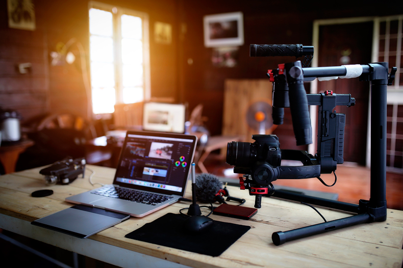 video processing cooling for filmmakers